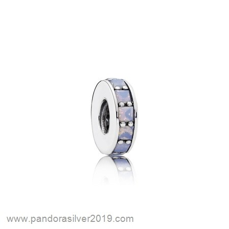 Pandora Store Specials Pandora Spacers Charms Eternity Spacer Opalescent White Crystal