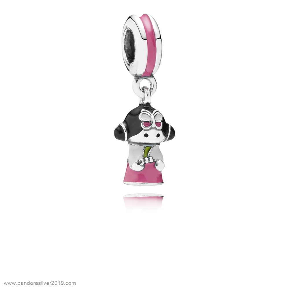 Pandora Store Specials Pandora Vacation Travel Charms Korean Doll Pendant Charm Mixed Enamels