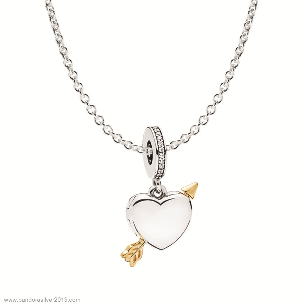 Pandora Store Specials Cupid Doesn'T Make Mistakes Necklace Gift Set